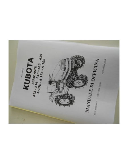 Manual de taller Kubota IT