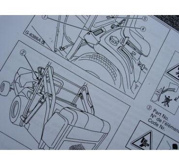 Manual Cortacespedes Kubota FR-GB-D
