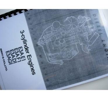 Manual de taller motores Iseki 3 cilindres GB