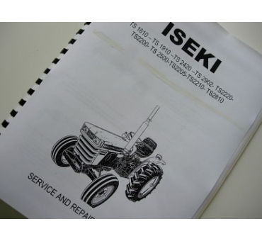 Manual de taller Iseki GB