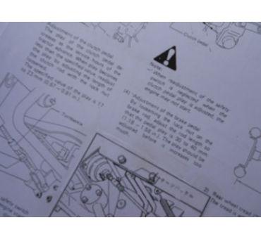 Manual Iseki GB