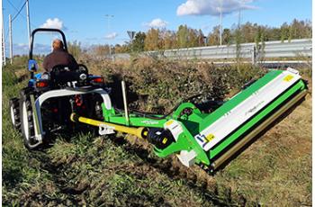 Trituradoras agrícolas y forestales, aliadas con el Medio Ambiente